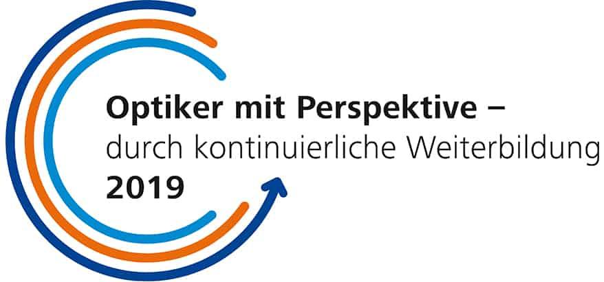 Optiker mit Perspektive Logo